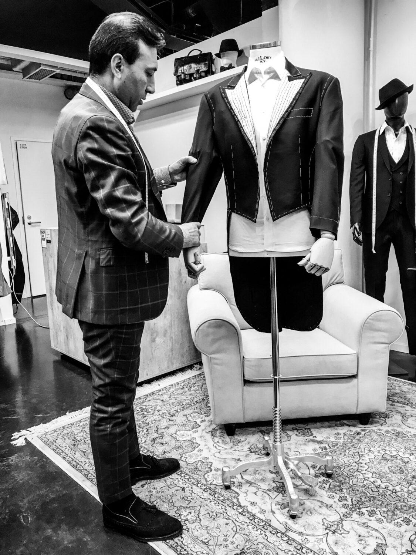 miesten puku